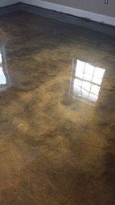 Metallic Epoxy Flooring Rochester Hills MI
