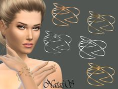 The Sims Resource: Winged bracelet by NataliS • Sims 4 Downloads
