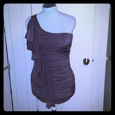 Dark brown dress Form fitting perfect for a night out Forever 21 Dresses