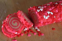 Easy Valentines Swirl Decorated Cookie Recipe