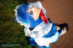 Cosplay: Ryomou Shimei vers maid Anime: Ikkitousen  PH:Nikon Shooter