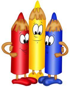 "Photo from album ""Карандаши,ручки"" on Yandex. Art School, Back To School, School Clipart, School Decorations, Cartoon Kids, Drawing For Kids, Classroom Decor, Cute Drawings, School Supplies"