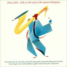 "For Sale - Elton John Club At The End Of The Street UK  12"" vinyl single (12 inch record / Maxi-single) - See this and 250,000 other rare & vintage vinyl records, singles, LPs & CDs at http://eil.com"