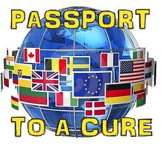 Passport to a cure....Around the world theme?