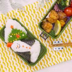 Japanese Food Art, Kids Dishes, Monthly Meal Planning, Food Art For Kids, Cute Bento, Party Dishes, Xmas Food, Cute Food, Kids Meals