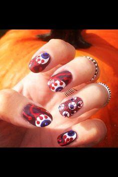 Halloween Eyeball Nail Art!