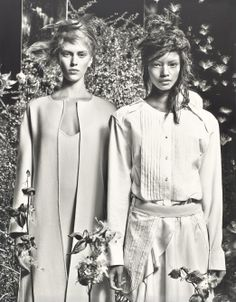 Field Day - Photographed by Craig McDean, styled by Edward Enninful; W Magazine February 2014.