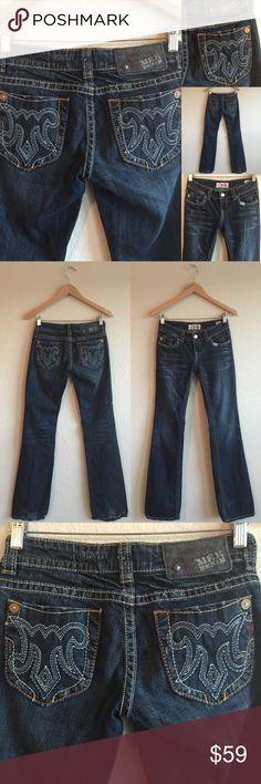 MEK Jeans 💗 Zanzibar Dark Wash, Sz 25 X 34 Excellent used condition!  Very nice jeans!  💗💗💗 A620416PC MEK Jeans