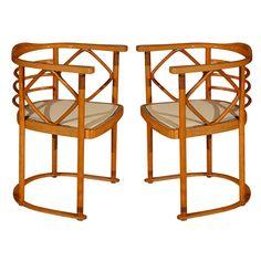 Josef Hoffman Chairs Austria 1905