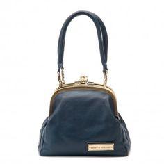 Navy Blue - Lizzy Shoulder Bag/Handbag
