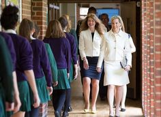 On May 4, 2017, Countess Sophie of Wessex visited the Abbey School in Reading and attended the events of 130th anniversary of establishment of The Abbey School.