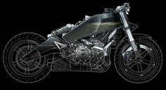 Buell Motorcycle Illustrations - Technical Illustration - Jim Hatch Illustration