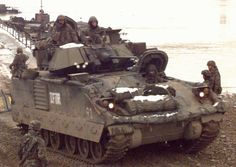 M2 and M3 Bradley Fighting Vehicle Systems (BFVS) First Generation the kind I commanded back in the 80's