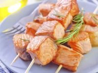 Špízy z lososa Barbecue, Valeur Nutritive, Snack Recipes, Snacks, Nutrition, Calories, Trout, Shrimp, Salmon