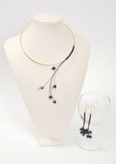 A few simple techniques have been combined to show how easy jewellery making can be.