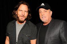 Eddie Vedder + Billy Joel