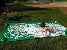 Play Create Explore: Shaving Cream Slip-N-Slide