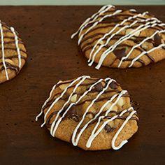 Zebra Chocolate Chip Cookies