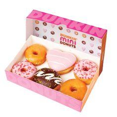 Dunkin Mini Donuts! Looks so kawaii I want some naaaaowww! !!