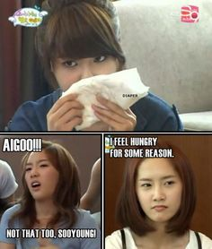 Snsd meme lol sooyoung