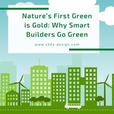 As concerns over global warming rise, you've probably heard discussions about using green construction methods. Such conversations almost inevitably end with someone pointing out the high upfront costs for green technology. But that is quickly becoming a misconception.    Click here to read more: Architecture Facts, Green Technology, Getting To Know, Go Green, Global Warming, Building Design, Fun Facts, How To Become, Construction