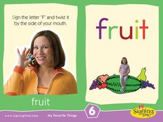 This Week's Featured Sign: Fruit