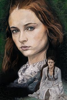 Sansa Stark by Fayeren on DeviantArt