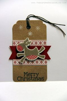 Christmas tag. http://www.lavidadeserendipity.com/
