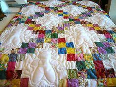 Beautiful! Girl Quilt Baby Crib | Girl-Boy-Handmade-Handcrafted-Double-Irish-Chain-Baby-Crib-Throw-Quilt ...