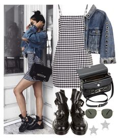 """""""instagram: florencia95"""" by florencia95 ❤ liked on Polyvore featuring Proenza Schouler, Balenciaga, Ray-Ban and Diamond Star"""