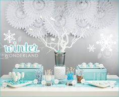 Great idea for a Winter Wonderland themed event
