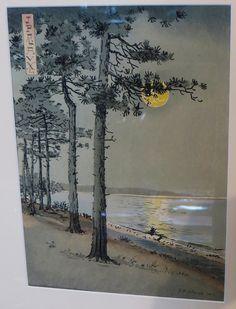 """""""Clair de Lune"""", 1913, exposition Jean-Paul Alaux (1876-1955), Hôtel """"Ville d'Hiver"""", Arcachon, pays de Buch, Gironde, Aquitaine, France.   Flickr - Photo Sharing!"""