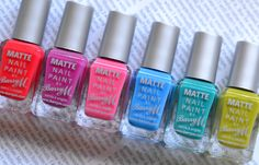London Beauty Queen: NEW From Barry M: Matte Nail Paint (But Not Too Matte!)