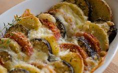 Przepis na warzywa zapiekane z mozzarellą