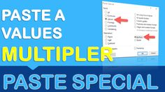 Paste Special has a few different Paste features and operations that many users do not know about.  One of them is the Paste Special > Values > Multiply combination.  What that does is multiply a range of selected cells by a value, called the multiplier.  So if you want to increase all your values by 10%, you can....see how below: