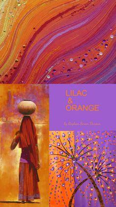 '' Lilac & Orange '' by Reyhan Seran Dursun