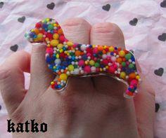 Doxie Sprinkle Ring!