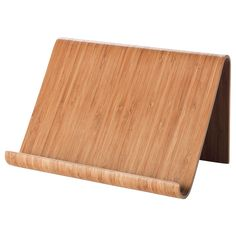 IKEA RIMFORSA Tablet stand Bamboo cm You can choose to put the stand on your worktop, or to hang it on the wall for more space when cooking. The stand is stable enough for both books and tablets. Made from a hardwearing material to endure everyday use. Ikea Rimforsa, Bamboo Tablet, Wall Railing, Sink Shelf, Ikea Shopping, Ikea Decor, Book Stands, Tablet Stand, Corner Shelves