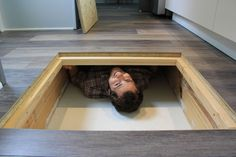 Every Tiny Moment in floor storage by Brevard Tiny House Company