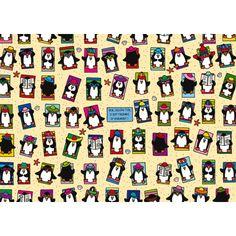 penguin lali postcard