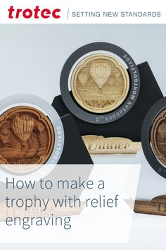 #trophymaking Trotec Laser, Laser Engraving, Diy, Projects, Log Projects, Blue Prints, Bricolage, Do It Yourself, Homemade