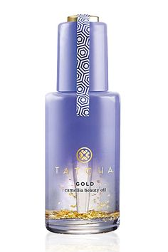 Tatcha Gold Camellia Beauty Oil  It's infused with 24-karat gold flakes that will absorb into your skin and leave it literally glowing.