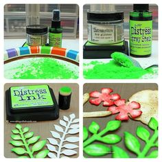 Tim Holtz Distress Ink Color POP: Twisted Citron | Simon Says Stamp Blog