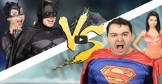 Batalha de rap: Batman Vs Superman