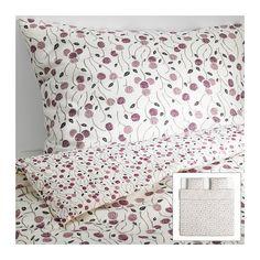 MAJVIVA Bettwäscheset, 3-teilig IKEA Bettbezug mit verschieden gemusterten Seiten - so lässt sich der Stil im Schlafzimmer variieren.