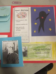 Artist Lapbook - Matisse