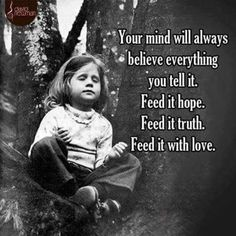 What to feed your mind.