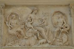 https://flic.kr/p/yBW8cS | The Ara Pacis Augustae or Altar of the Augustan Peace, built to celebrate the return of Augustus to Rome in 13 BC following campaigns in Spain and Gaul, Museo dell'Ara Pacis, Rome