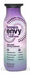 Synergy Tan Brown Envy Dark Tanning Accelerator Lotion for Indoor and Outdoor Tanning.  Great to help get a base tan!