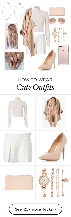 """""""Casual outfit."""" by niece01 on Polyvore featuring Witchery, Dorothy Perkins, A.L.C., Ray-Ban, Sophie Hulme, Anne Klein and Diane Kordas"""